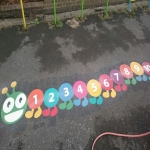 Playground Marking Specialists in Middlewood 10