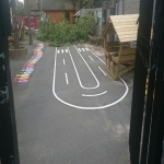 Roadway Markings Contractor in Abernant 11