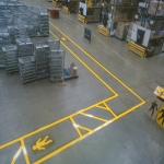 Warehouse Flooring Paint in Abbots Bromley 2