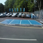 Car Park Floor Painting in Witham Friary 7