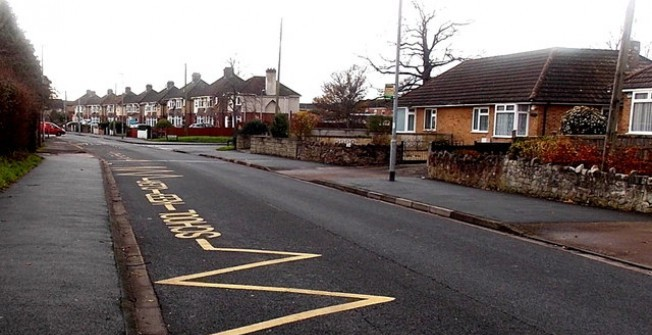 Road Marking Meaning in Alnham