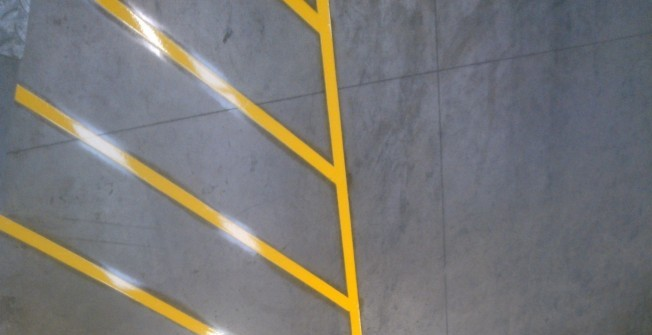 Warehouse Floor Marking in Chilton Cantelo