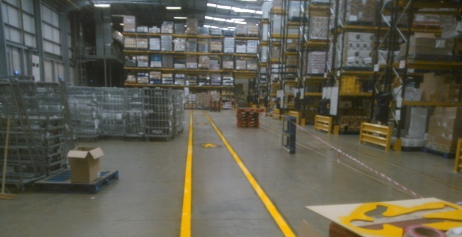 Warehouse Floor Services in Abbots Bromley